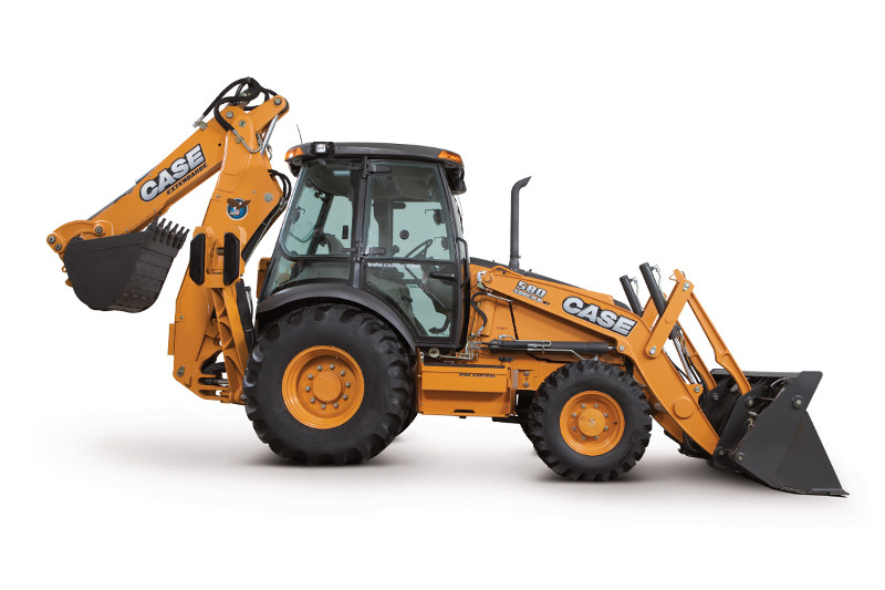 Call Yukon today to rent one of the high quality Case Backhoes.